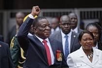 Inaugurace nového prezidenta Zimbabwe Emmersona Mnangagwy