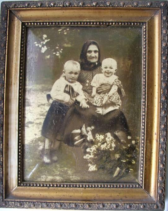 Babička Josefa Řepíka ve 30. letech 20. století