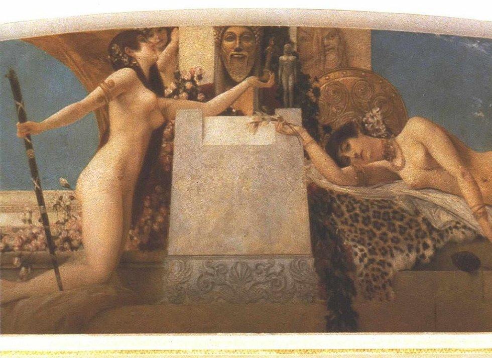 Gustav Klimt: Dionýsuv oltář