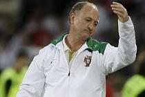 Konec. Kouč Scolari zakončil svou misi u národního týmu Portugalska neúspěchem.