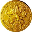 Druhá největší mince na světě je symbolem oslav výročí naší měny