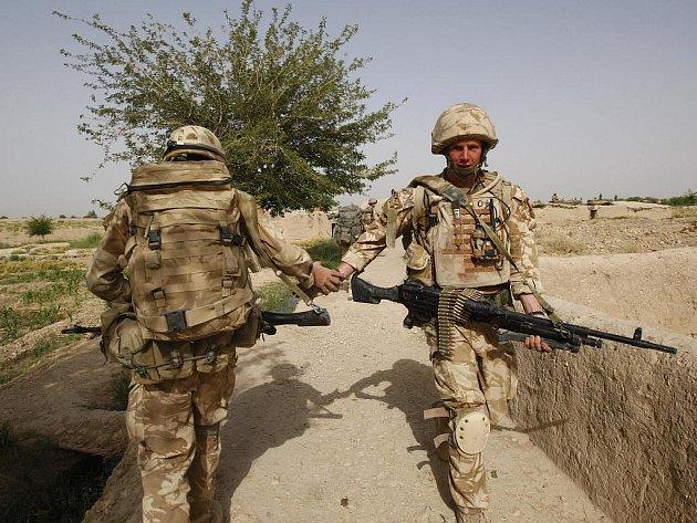 Britští vojáci v afghánské provincii Helmand.