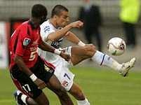 Lyon - Rennes: Milan Baroš