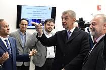 Premiér Andrej Babiš navštívil ve Washingtonu i Marylandskou univerzitu.