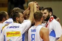 Basketbalisté Prostějova se radují z postupu do finále Mattoni NBL.