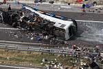 V Chorvatsku havaroval autobus brněnské CK, zemřelo osm lidí.