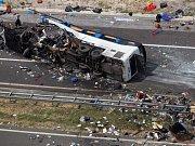 V Chorvatsku havaroval autobus brněnské cestovní kanceláře, zemřelo osm lidí.