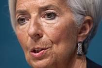 Ředitelka Mezinárodního měnového fondu (MMF) Christine Lagardeová.