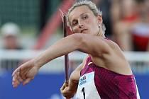Barbora Špotáková se vrátila po mateřské pauze ve skvělé formě.