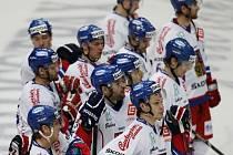 Skleslí čeští hokejisté po debaklu s Ruskem na turnaji EHT.