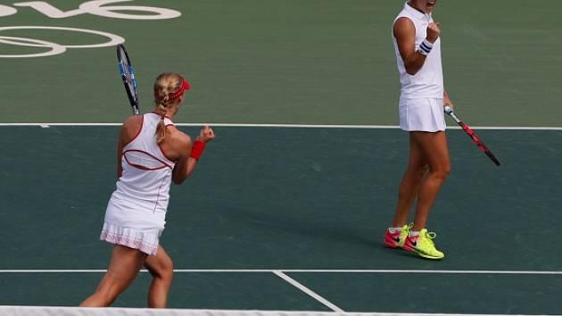 Jekatěrina Makarovová a Jelena Vesninová.