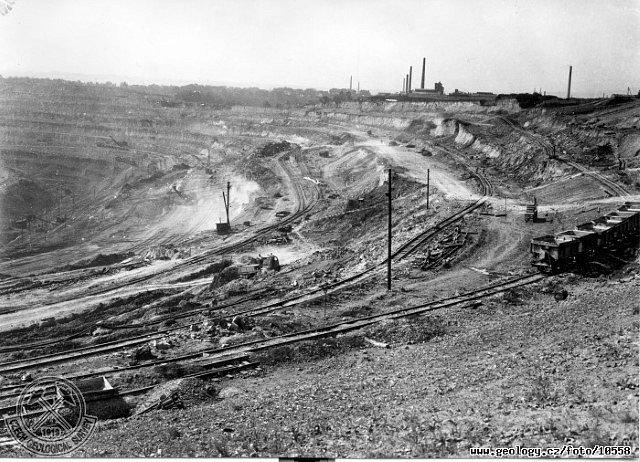Důl Fučík - Bílina (1958)