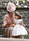 Vévodkyně Kate s dcerou Charlotte.
