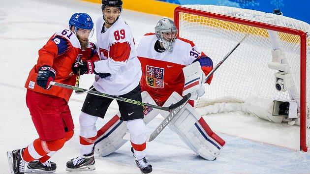 Hokejisté České republiky porazili Švýcarsko 4:1.