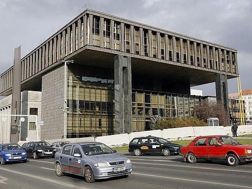 Bývalá budova Federálního shromáždění v Praze