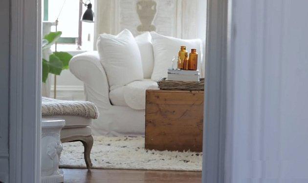 Bílý apartmán vMontrealu