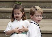 Princezna Charlotte a princ George