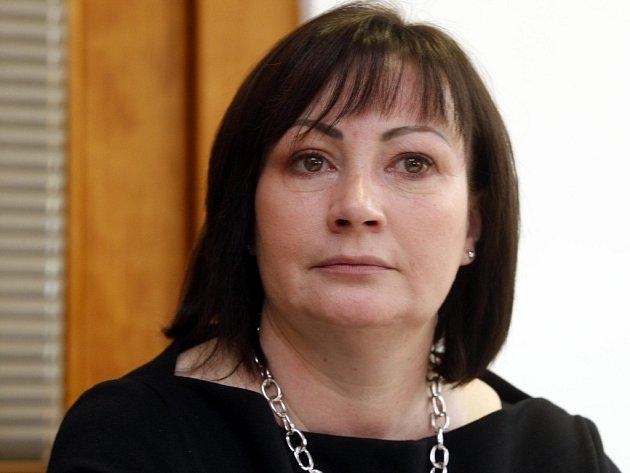 První dáma Ivana Zemanová.