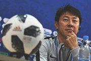Trenér korejské reprezentace Šin Te-jong.