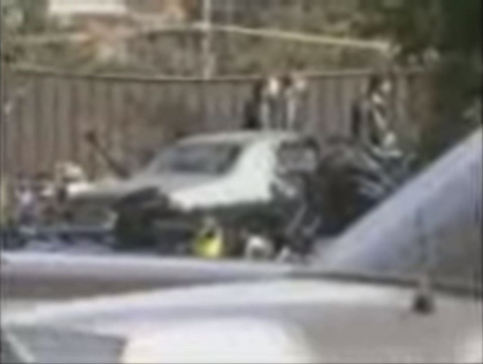 Amatérské záběry z místa přestřelky