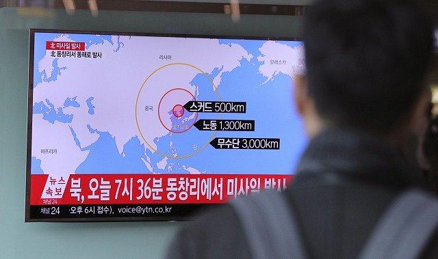 KLDR odpálila čtyři balistické rakety
