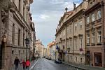 Vylidněné centrum Prahy