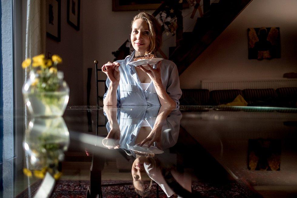 Herečka Tereza Bebarová