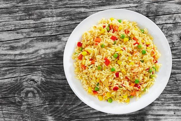 Krémové rizoto shráškem a kukuřicí