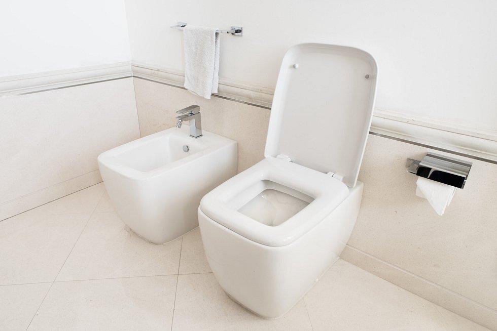 Stále oblíbenější je instalace toalety a bidetu. Počítejte však s tím, že potřebují daleko více místa než samostatné WC.