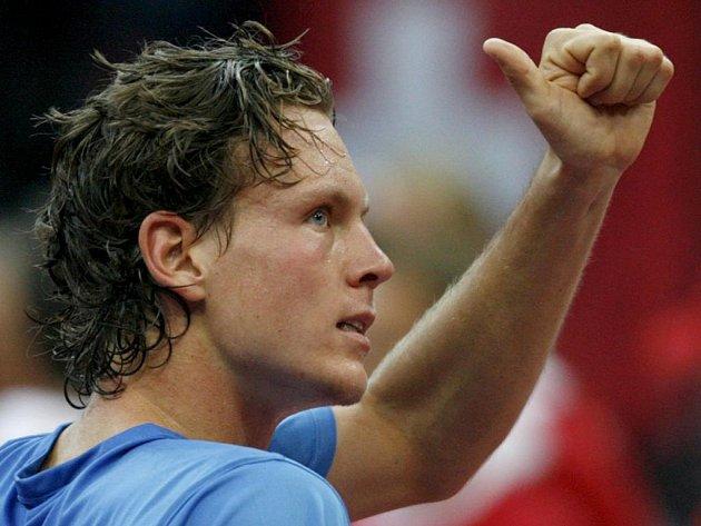 Dovede Tomáš Berdych český výběr do čtvrtfinále Davisova poháru?