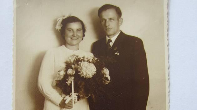 Josefa a Ludvík Vaňkovi-svatební fotografie