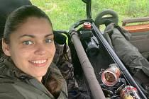 Lovkyně Michaela Fialová navštívila v zimě safari v Botswaně.