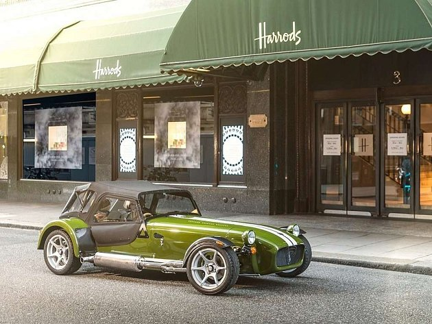 Caterham Harrods Seven.