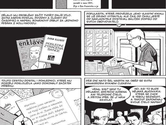 Čtyři grafické povídky spojené do knihy Letní blondýnka jsou na první pohled (kresebně i dějově) jednoduché, prosté.