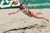 Beachvolejbalistka Kristýna Kolocová.