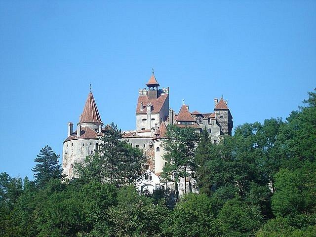 Hrad Bran se nachází na historické hranici mezi Transylvánií a Valašskem