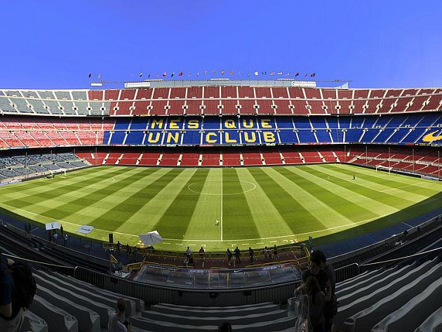 Fotbalový svatostánek FC Barcelona Camp Nou. Ilustrační foto