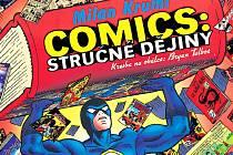 Obálka knihy o dějinách komiksu Milana Krumla.