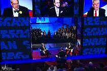 Prezidentský duel v České televizi