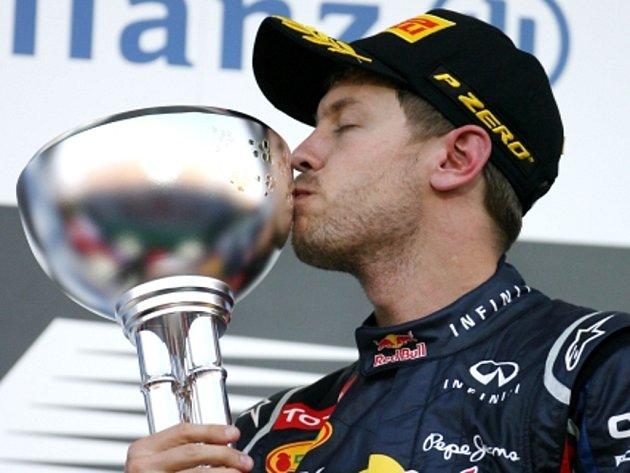 Sebastian Vettel triumfoval ve Velké ceně Japonska.