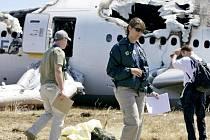 Vyšetřování nehody letadla Boeing 777 na letišti v San Francisku.