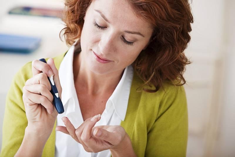 Test na diabetes.