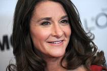 Americká filantropka Melinda Gatesová.