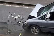 Řetězová nehoda v Birminghamu