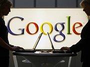Zakladatelé Google.com Sergey Brin a Larry Page