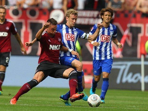 Norimberk vs. Hertha Berlín.