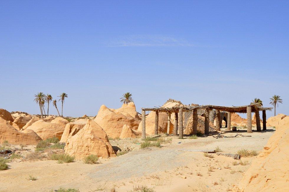 Kebili, jedna z nejstarších oáz v Severní Africe.