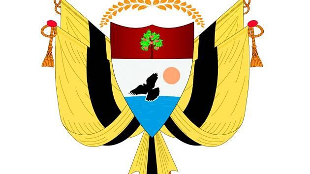 ZNAK. Ústavu Liberland nemá, symboliku ano.