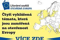 Literární soutěž Otevřená Evropa.