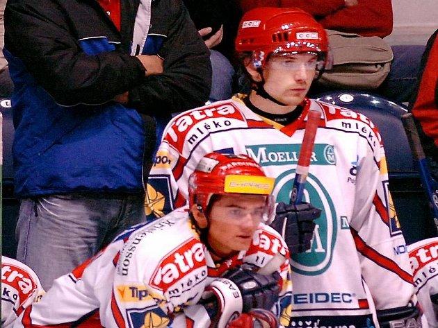 Martin Čech (vpravo)